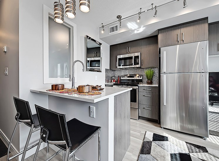 ONE6 Residential stainless steel appliances