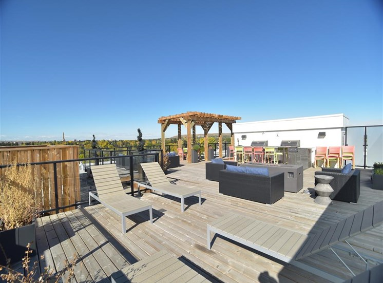 Centro Residential Rental apartments rooftop patio
