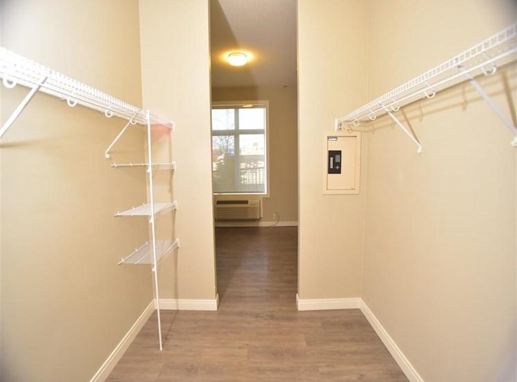 Centro Residential Rental apartments Closet safe