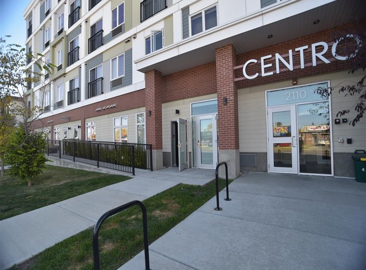 Centro Residential Rental apartments secure entrance