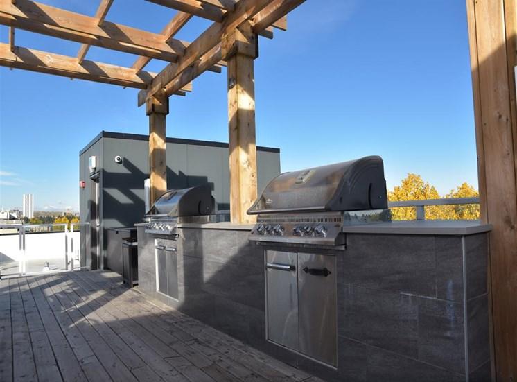 Rooftop Patio BBQ
