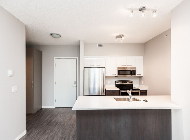 aura residential rental apartments stainless steel appliances