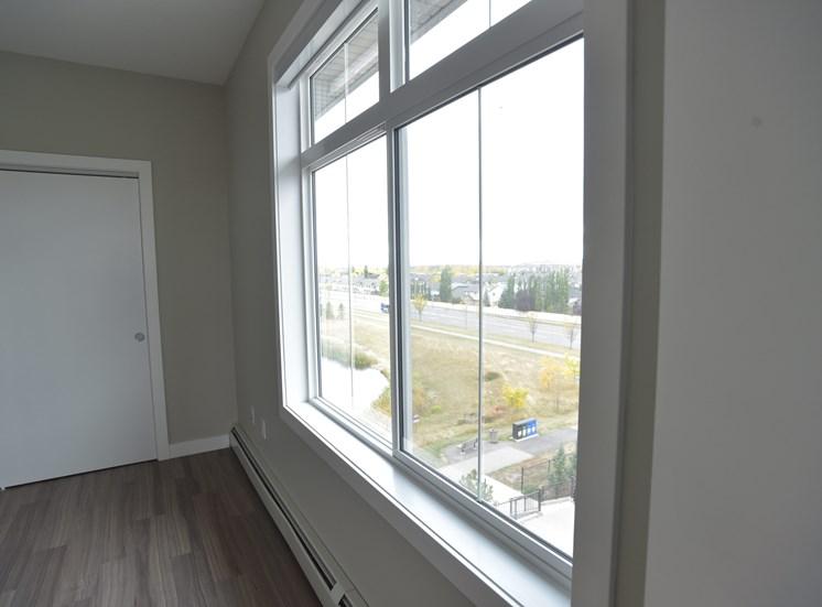 Aqua residential rental apartments bright, modern spaces