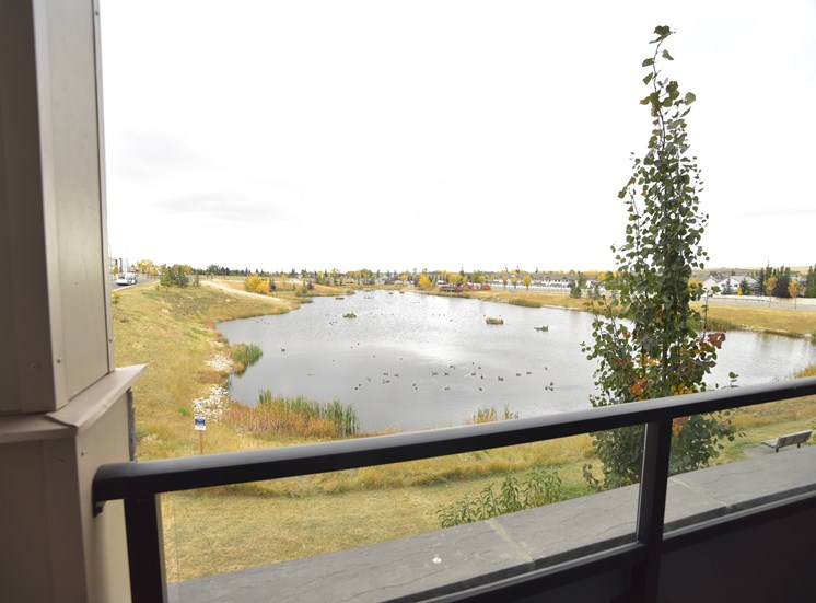 Aqua residential rental apartments beautiful view from balcony