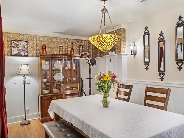 Elegant Dining Room at Cogir of Northgate Memory Care, Washington