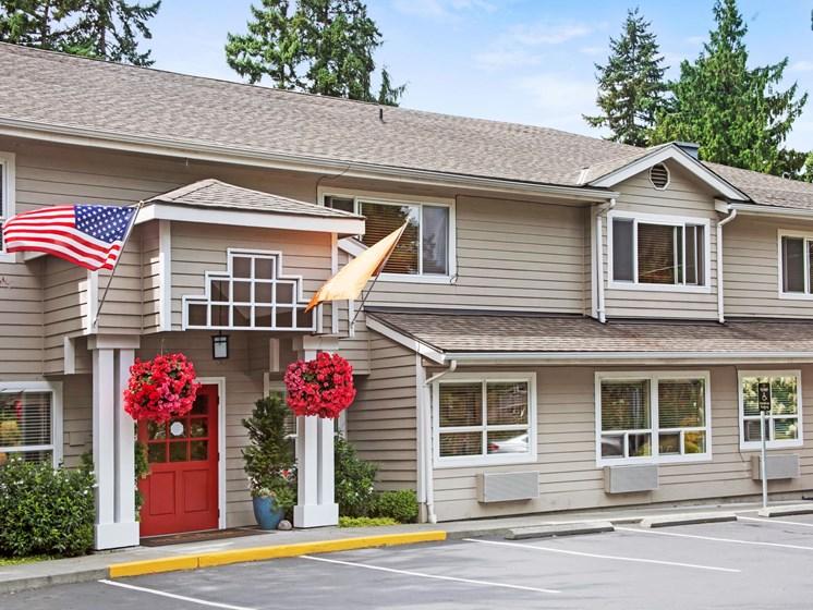 Elegant Exterior View at Cogir of Northgate Memory Care, Seattle, 98125
