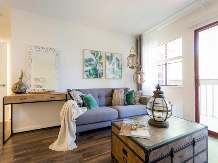 Modern Living Room at Cogir of Stock Ranch, California