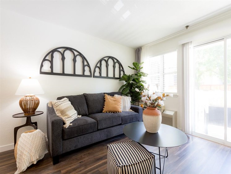 Living Room With Expansive Window at Cogir of Rohnert Park, Rohnert Park, 94928