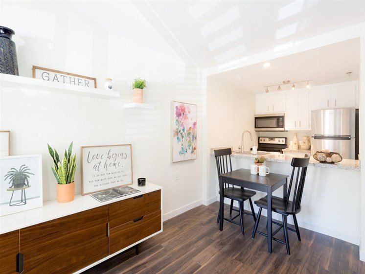 Living Room Come Kitchen View at Cogir of Rohnert Park, California, 94928