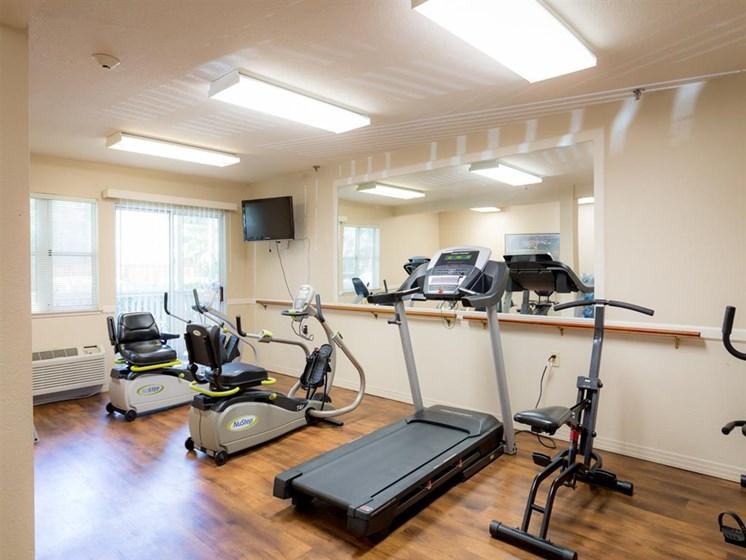 Cardio Studio Equipment at Cogir of Rohnert Park, Rohnert Park, California