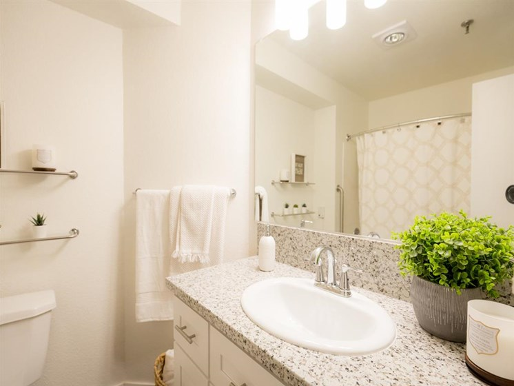 Luxurious Bathrooms at Cogir of Vacaville, Vacaville, California