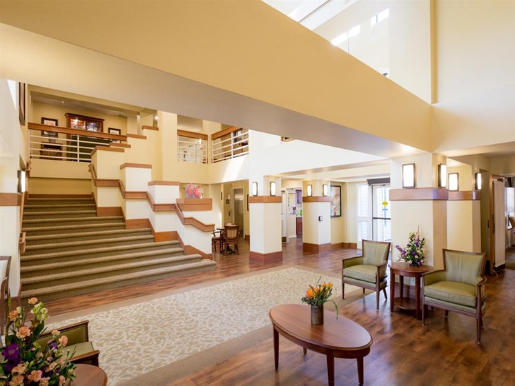 Resident Lounge at Cogir of Vacaville, Vacaville, CA, 95687