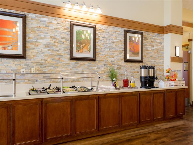 Clubhouse With Catering Kitchen at Cogir of Vacaville, California, 95687