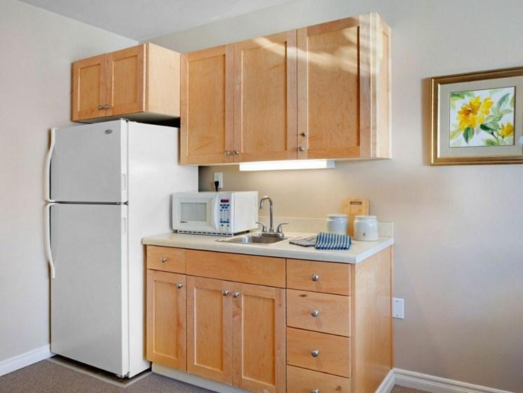 Kitchen Unit at Cogir On Napa Road, Sonoma, California
