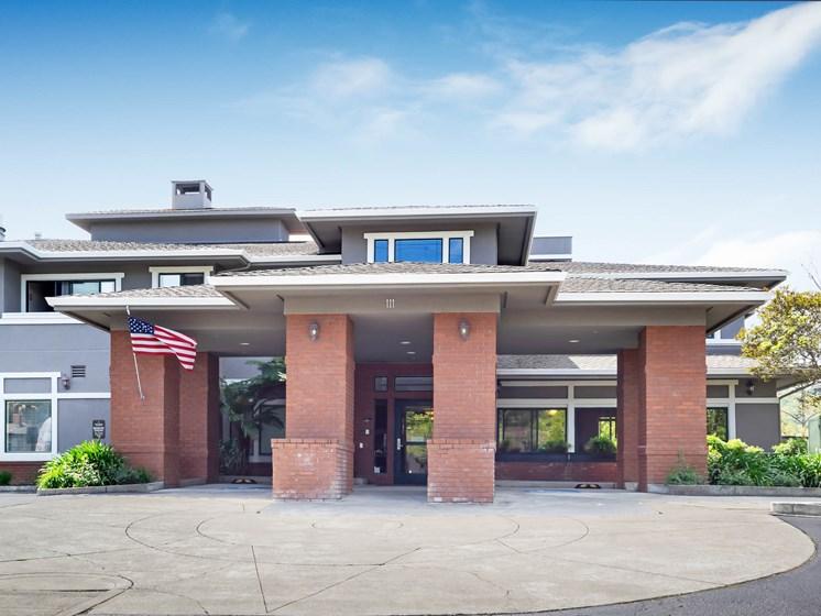Cogir of San Rafael Memory Care welcome center, in San Rafael CA  94903