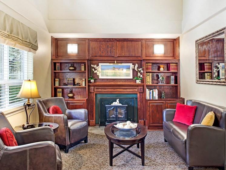 Living room at Cogir of San Rafael Memory Care, California