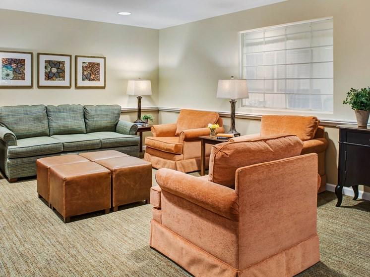 Comfortable Sofas at Cogir of San Rafael Memory Care, San Rafael, California