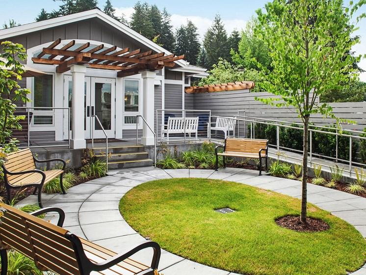 Outdoor view at Cogir of San Rafael Memory Care, California