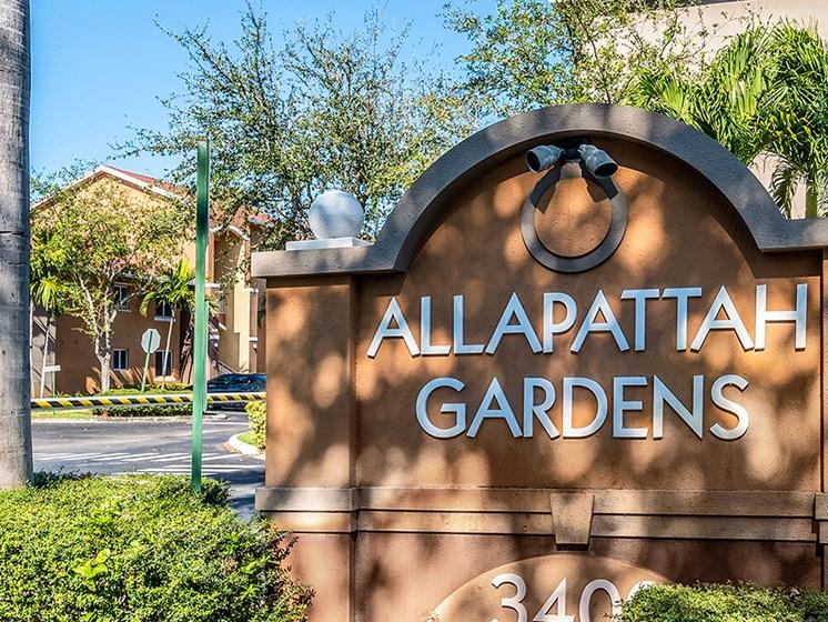 Allapattah Gardens Main Entry