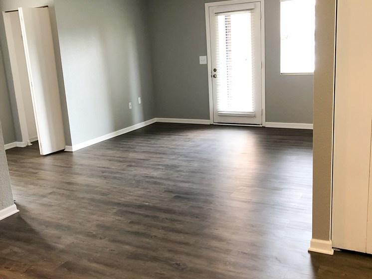 Lakestone gorgeous wood-style flooring throughout