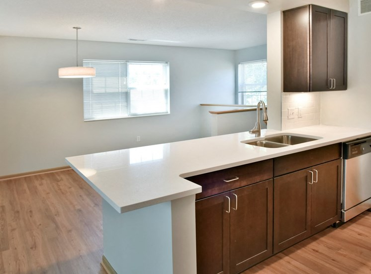 1 bedroom kitchen and dining