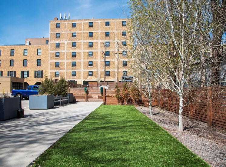 Property Exterior at 700 Central Apartments, MN, 55414