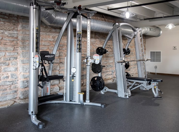 Fitness Center at 700 Central Apartments, Minneapolis