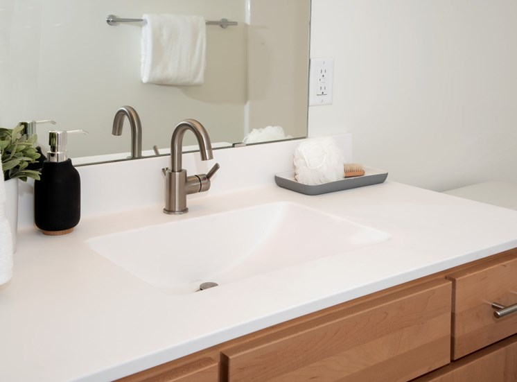 Bathroom at 700 Central Apartments, Minneapolis, MN, 55414