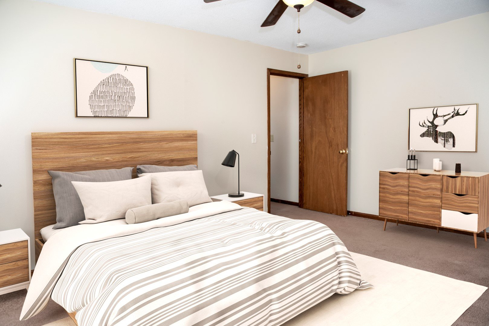 Bass Lake Crossing large bedroom