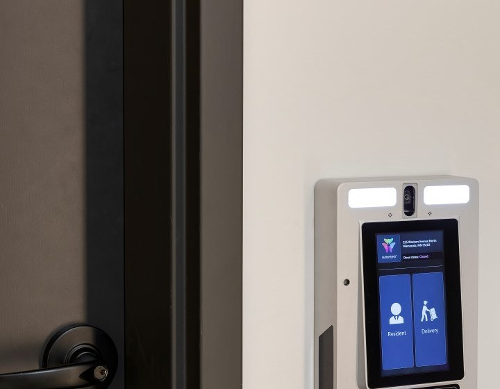 Amenities Include Touch Screen Package Receiving at The Hill Apartments in St Paul, MN