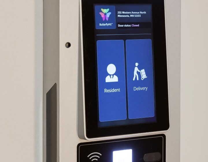 Touch Screen Package System at The Hill Apartments in St Paul, Minnesota