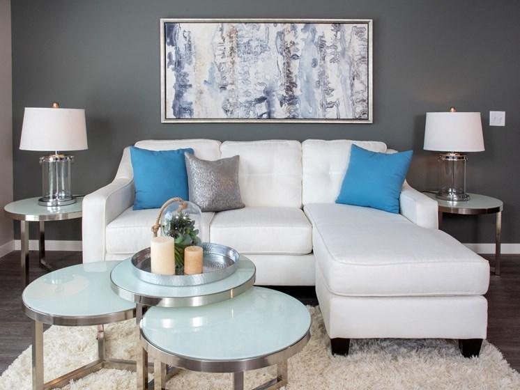 Modern Living Room at The Sixton, Shakopee, MN