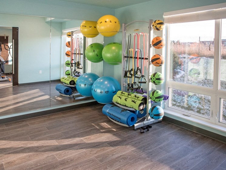 Fitness Center With Updated Equipment at The Sixton, Shakopee, 55379