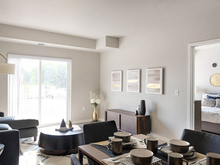 Spacious living space in apartments at The Sixton, Shakopee, MN