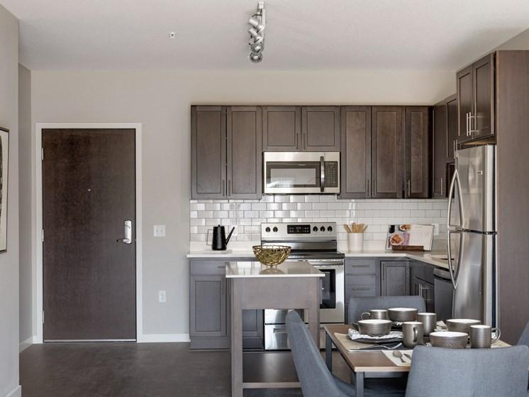Spacious Kitchen at The Sixton Apartments Shakopee MN