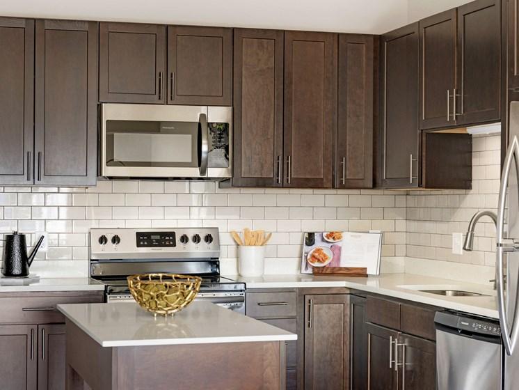 Kitchen at The Sixton Apartments Shakopee MN