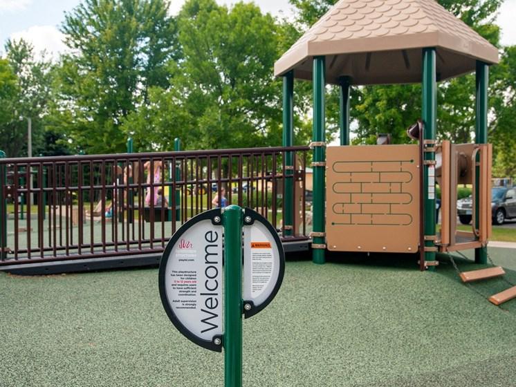 On - Site Playground at The Sixton, Minnesota