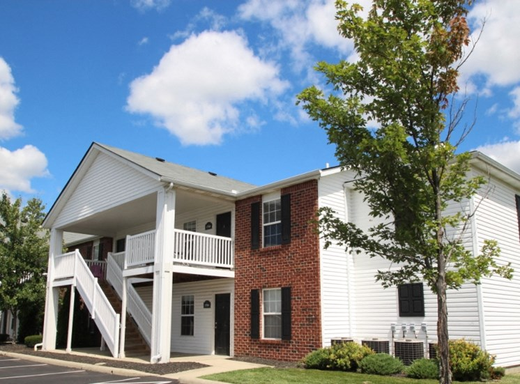 This is a photo of a building exterior at Washington Place in Washington Township, OH.