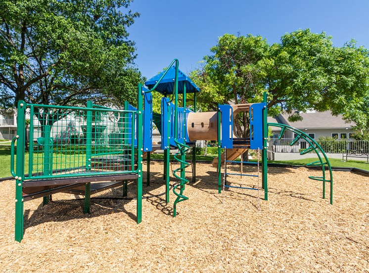 This is a photo of the playground at The Biltmore Apartments, in Dallas, TX.