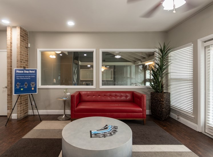 This is a photo of the Resident Services Office at The Biltmore Apartments, in Dallas, TX.