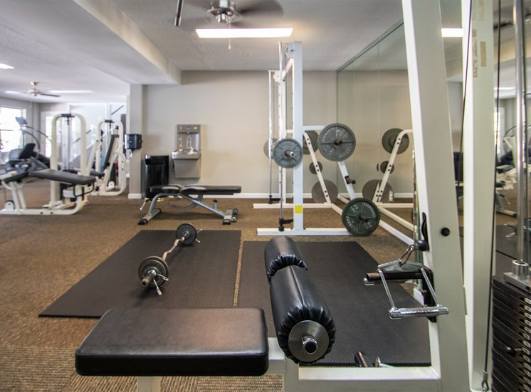 This is a photo of the 24-hour fitness center at Trails of Saddlebrook in Florence, KY.