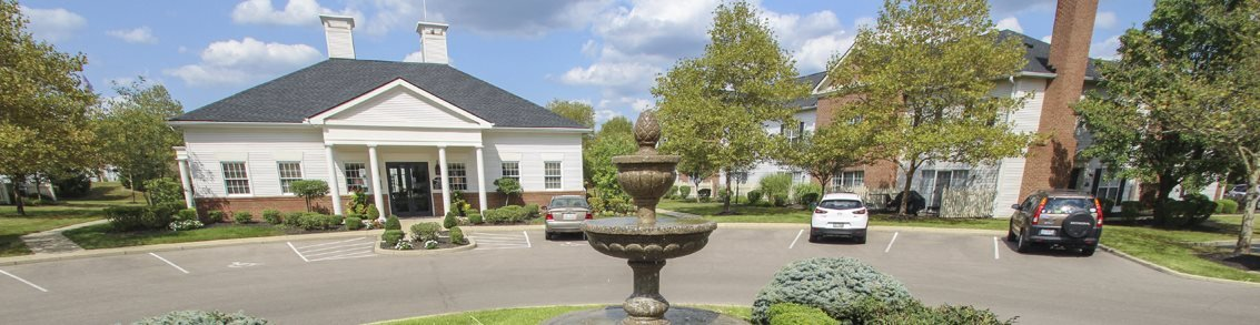 This is a photo of the Leasing Office at Washington Park in Centerville, OH.