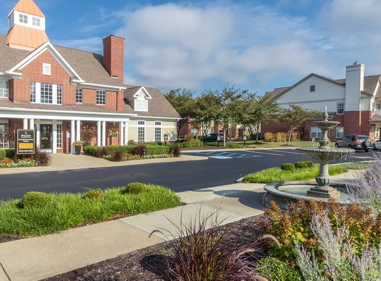 This is a photo of the resident clubhouse/leasing office at The Sanctuary at Fishers in Fishers, IN.