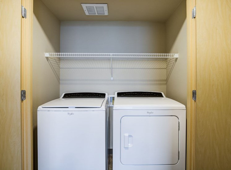 Washer and Dryer  Laundry Area
