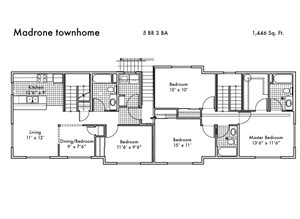 Madrone townhome