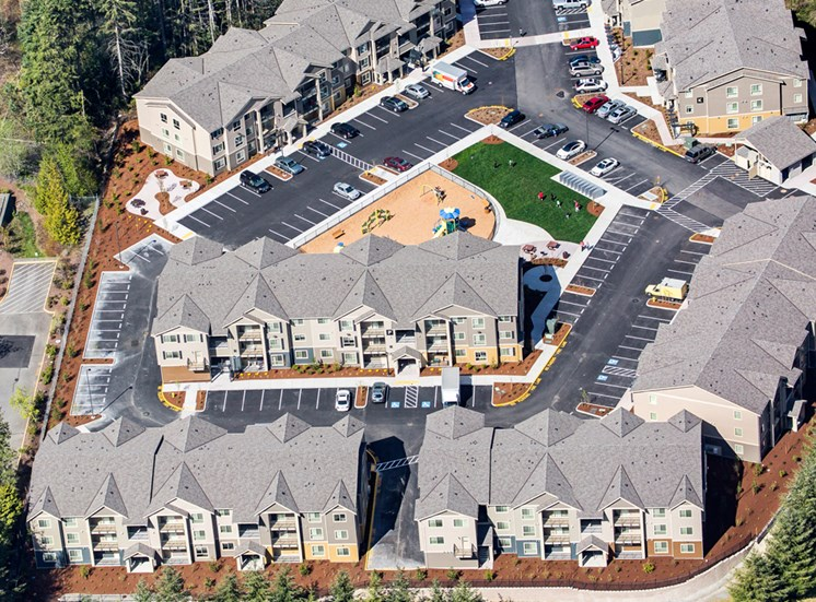 Aerial View of Kitts Corner