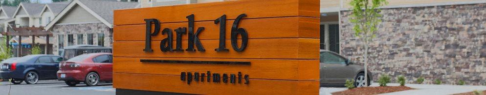 Park 16 Sign