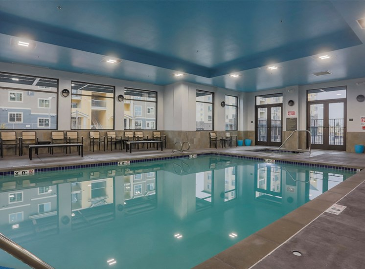 Year Round Indoor Pool and Spa