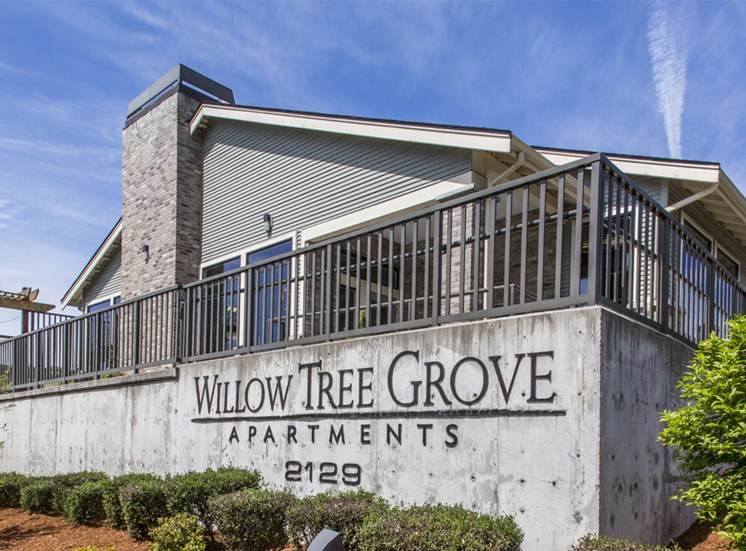 Willow Tree Grove Sign