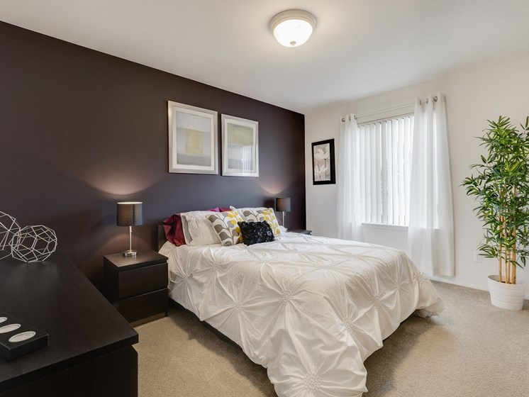 Large Bedroom at Eastwood Village Apartments, Clinton Township, Michigan 48035